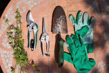 Przechowywanie narzędzi ogrodniczych