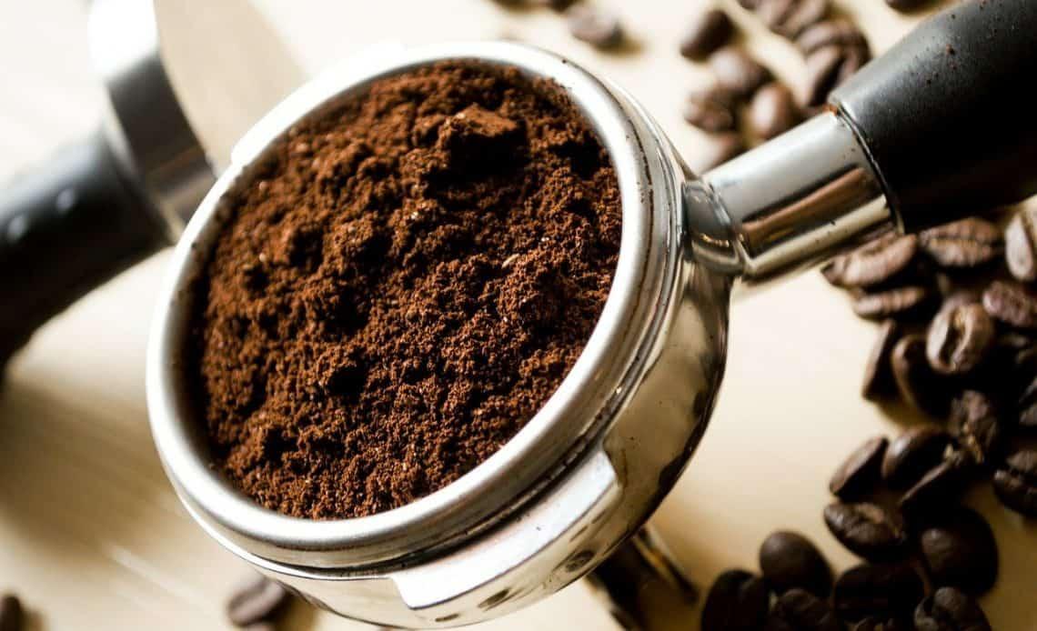 zmielona kawa