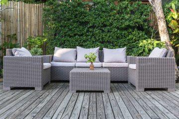 Plastikowe, technorattanowe czy aluminiowe - jakie meble wstawić w ogrodzie?